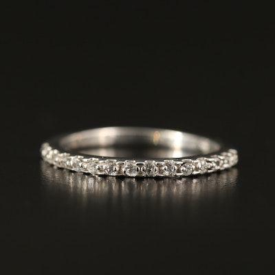 14K Diamond and Topaz Band