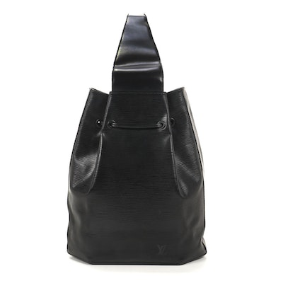Louis Vuitton Sac a Dos in Black Epi Leather