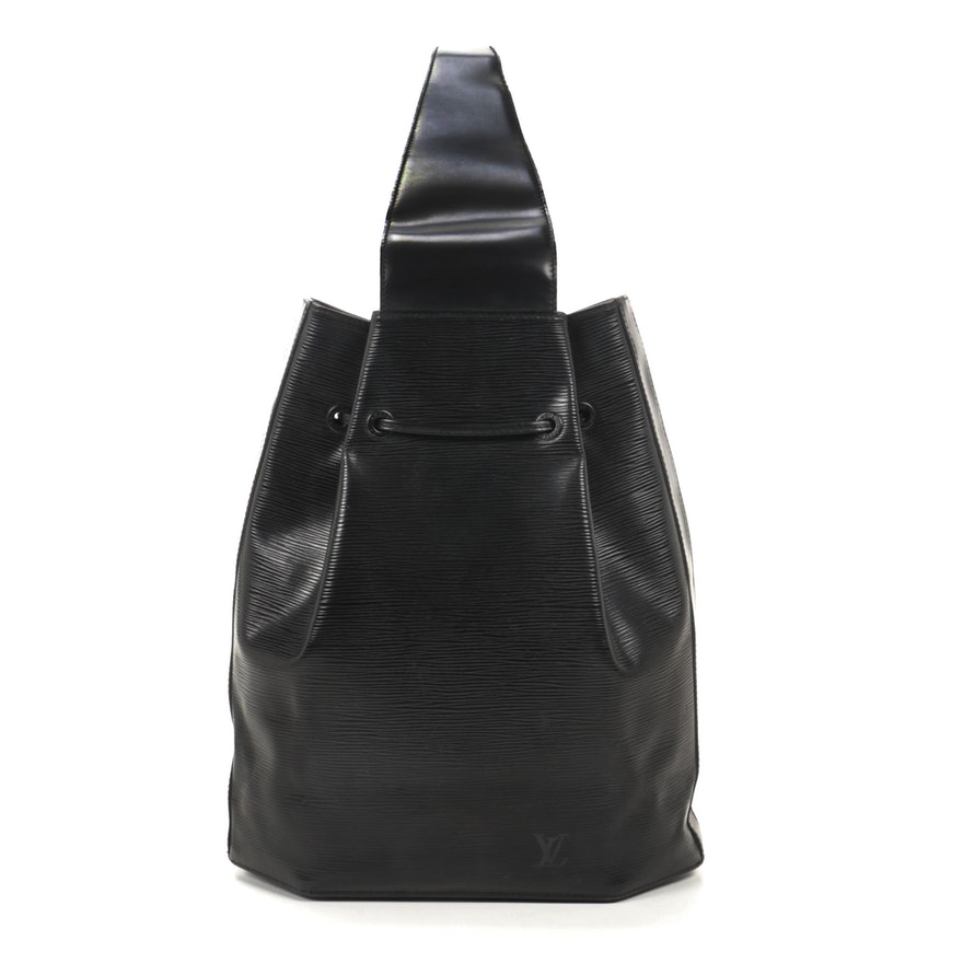 Louis Vuitton Sac a Dos in Black Epi Leather
