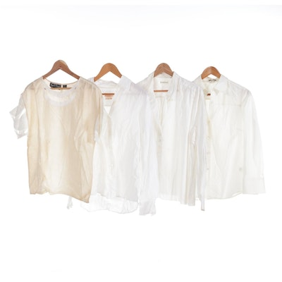 Brooks Brothers, Joseph Le Bon, J.Crew and More Cotton and Linen Blouses