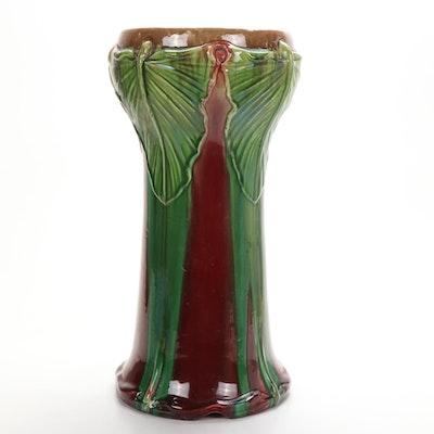 Art Nouveau Ceramic Pedestal,  Early 20th Century