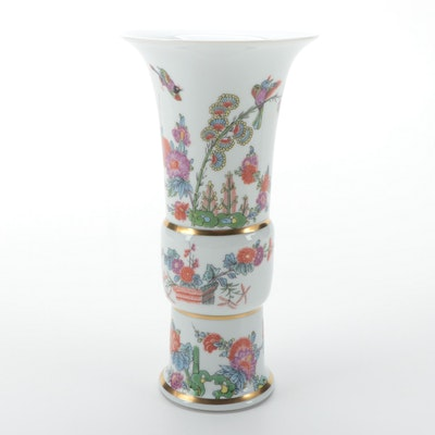 Haviland for Metropolitan Museum of Art Reproduction Meissen Porcelain Vase