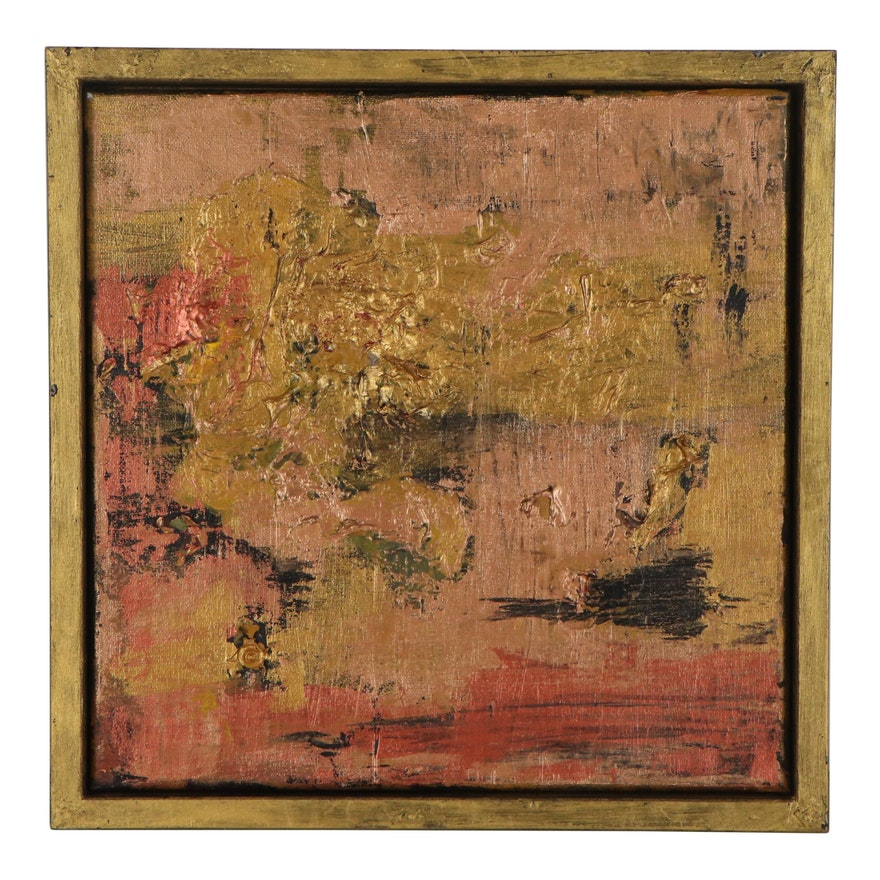 Elaine Neumann Abstract Mixed Media Painting, 2019