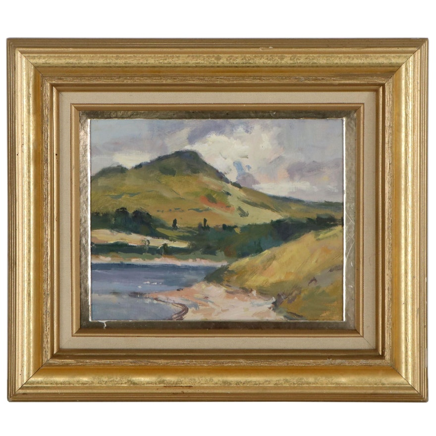 Gordon Radford Landscape Oil Painting