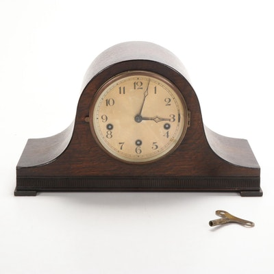 Thomas Haller Tambour Mantel Clock, c. 1920