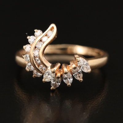 14K Diamond Ring Enhancer