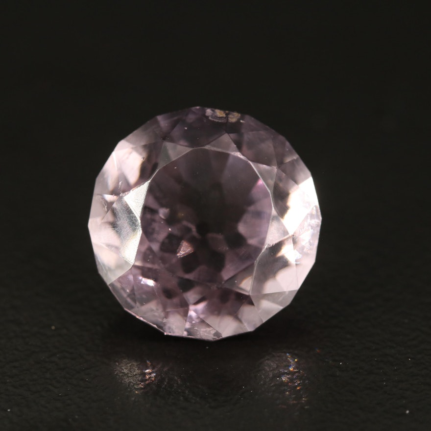 Loose Round Faceted Glass