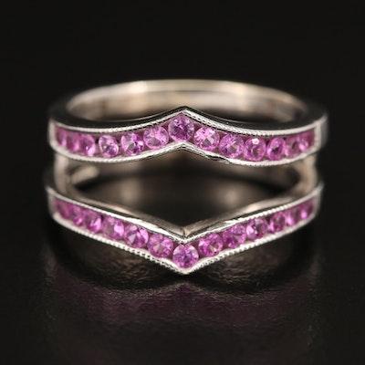 A. Jaffe 14K Sapphire Ring Jacket