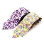 Emilio Pucci Hand-Stitched Silk Twill Necktie