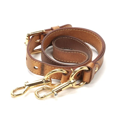 Louis Vuitton Shoulder Strap in Vachetta Leather
