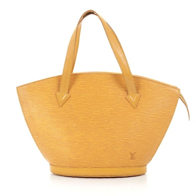 Louis Vuitton Saint Jacques in Tassil Yellow Epi Leather