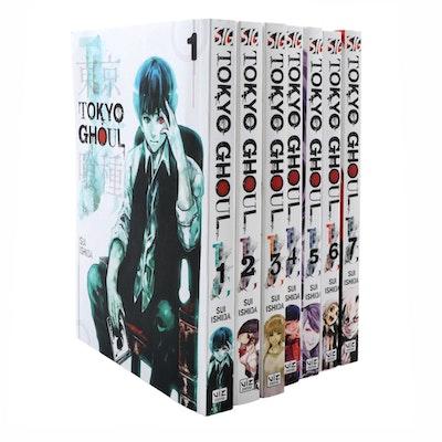"""Tokyo Ghoul"" Vol. #1–7 Manga Books by Sui Ishida"