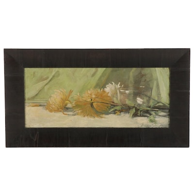 Dixie Selden Still Life Oil Painting, Early 20th Century