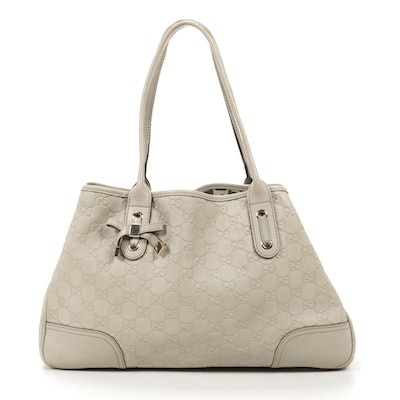 Gucci Princy Tote in Beige Guccissima Leather