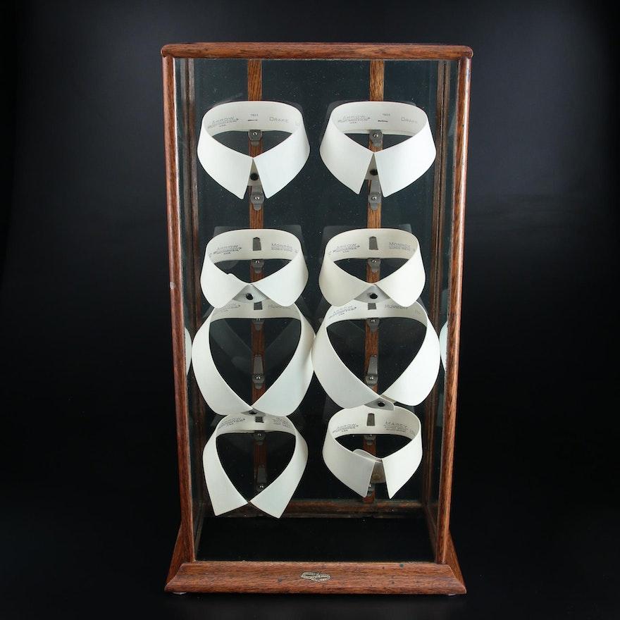 Cluett Peabody & Co. Arrow Detachable Collars in Illinois Showcase Display Case