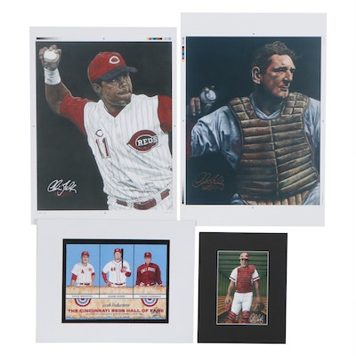 Chris Felix Offset Lithographs of Cincinnati Reds, 21st Century