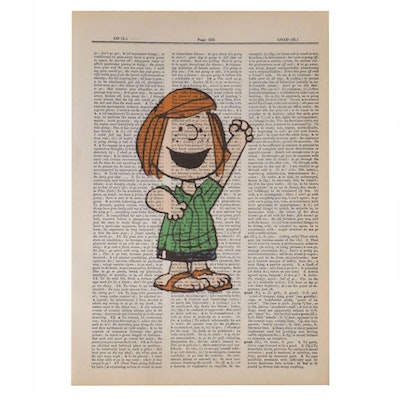 Giclée after Charles M. Schulz of Peppermint Patty