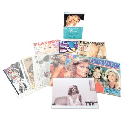 "First Edition ""My Journey with Farrah"" with Farrah Fawcett Memorabilia"
