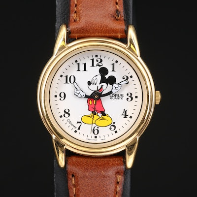 Mickey Mouse Lorus Quartz Wristwatch