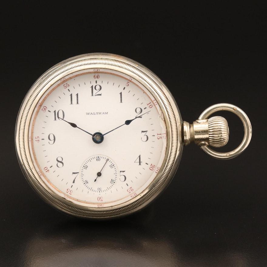 1904 Waltham Sidewinder Pocket Watch