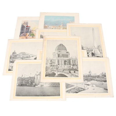 Offset Lithographs of World Travel Photographs