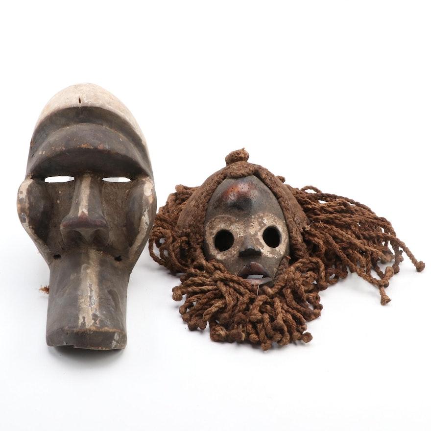 "Dan ""Gunye Ge"" Style and Kran Style Mask, West Africa"