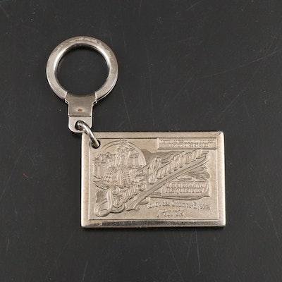 Louis Vuitton Metal Traveling Requisites Key Ring