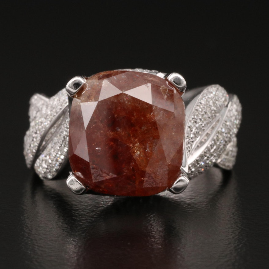 14K 8.63 CTW Diamond Ring