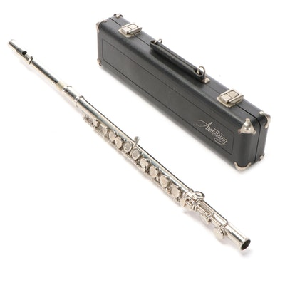 Armstrong Nickel Plated Flute with Case