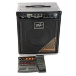Peavey Max 110 Bass Amplifier with Zoom Effects Processor