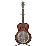 Acoustic Resonator Round Neck Guitar
