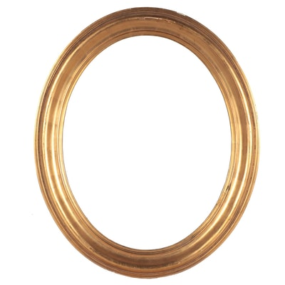 Oval Giltwood Frame