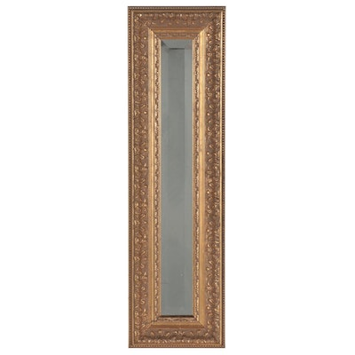 Giltwood Rectangular Mirror, Late 20th to 21st Century