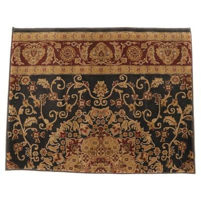 3'2 x 3'4 Machine Made Yahya Carpet Indian Accent Rug Sample