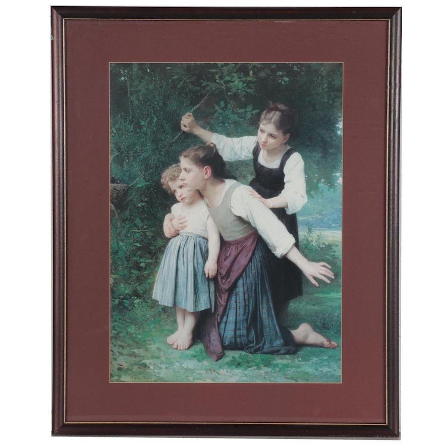 "Offset Lithograph after Elizabeth Jane Gardner ""In The Wood"""