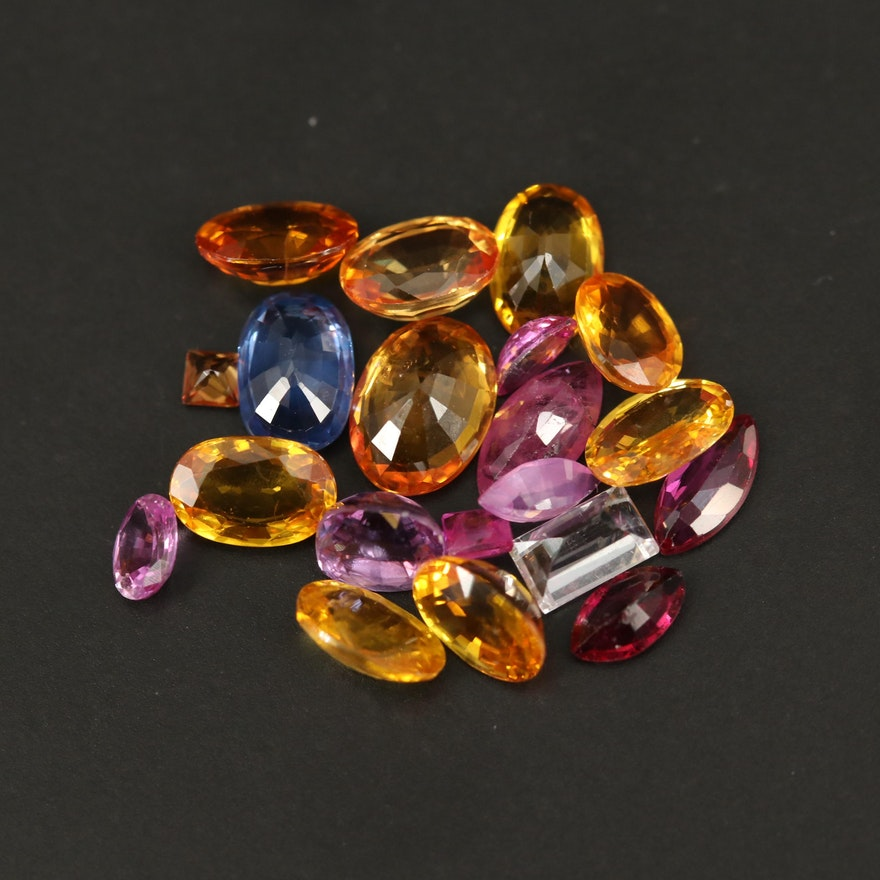 Loose Faceted Sapphires