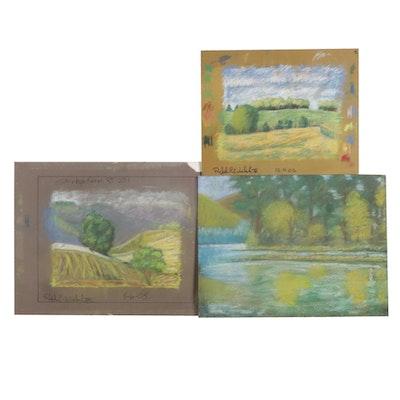Ralph C. Welsh III Landscape Pastel Drawings, 2005-2007