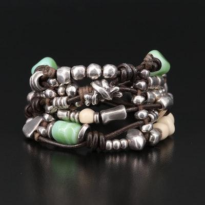 Uno de 50 Sterling Silver Multi-Strand Bracelet