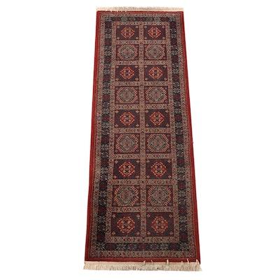 2'8 x 8'1 Machne Made Antiqua Brazilian Carpet Runner