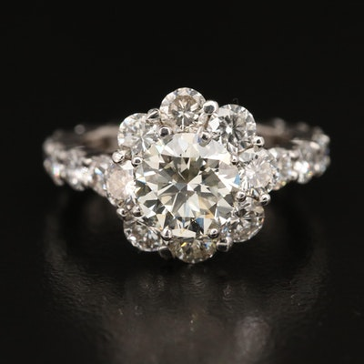 14K 4.52 CTW Diamond Ring