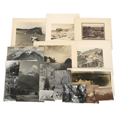 Silver Gelatin Photographs and Postcards of Africa, Mid-20th Century