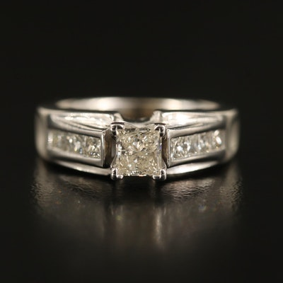 14K 1.14 CTW Diamond Ring
