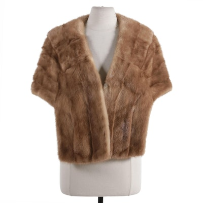 Mink Fur Stole from Parker Furs of Chicago