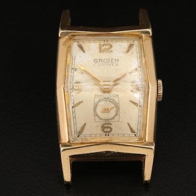 1950s Gruen Curvex Precision Wristwatch