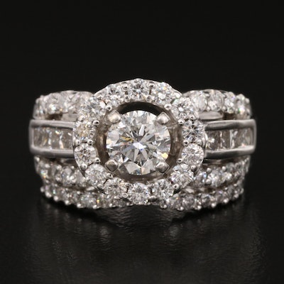 14K 2.27 CTW Diamond Ring