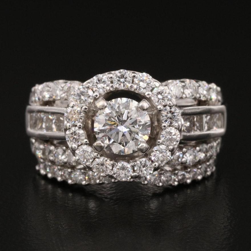 14K 2.27 CTW Diamond Ring