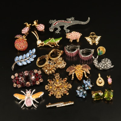 Swarovski, Joan Rivers, Emmons and Rhinestone Jewelry