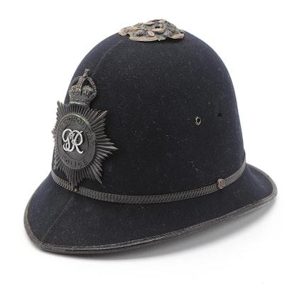 Penn-Craft Felt Custodian Helmet with Emblem