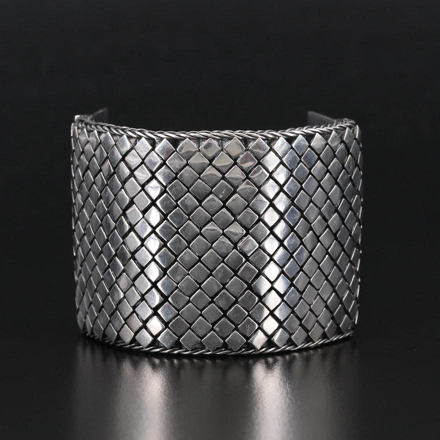 Sterling Mesh Bracelet