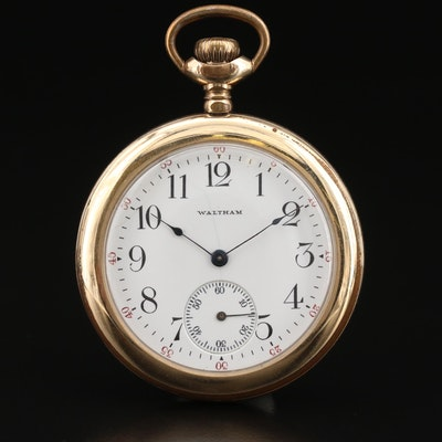 1904 Waltham Open Face Pocket Watch